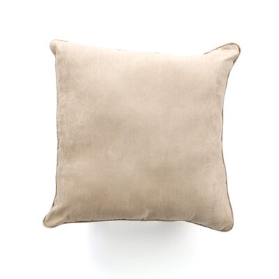 <strong>Sure-Fit</strong> Soft Suede Pillow