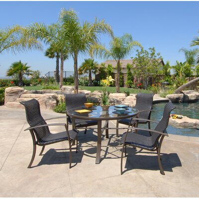 Koverton Escape 5 Piece Sling Dining Set