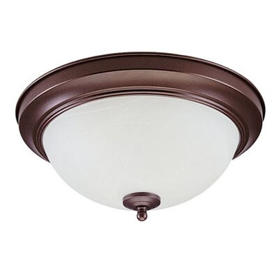 "Royal Pacific 5"" 2 Light Flush Mount"