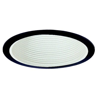 Royal Pacific Baffle with Black Trim Ring in White