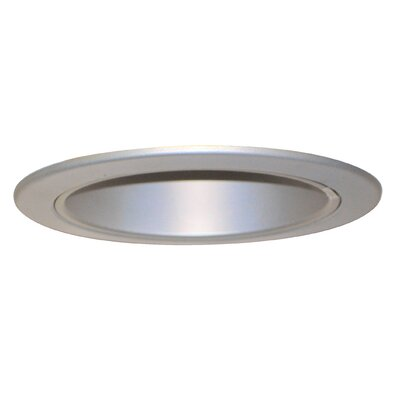 "Royal Pacific 4"" Reflector Trim for Recessed Housing in Brushed Aluminium"