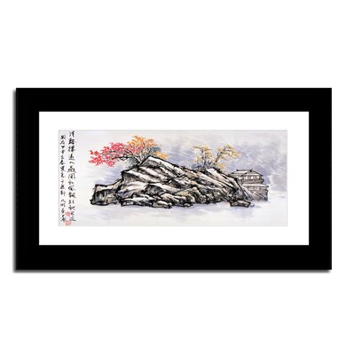 Oriental Design Gallery Hilltop House by Lin Hung Tsung Frame Wall Art