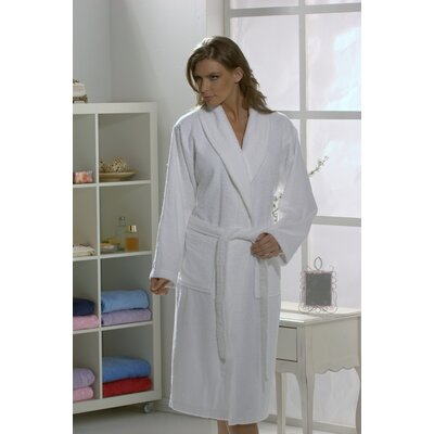 Linum Home Textiles 100% Turkish Cotton Terry Unisex Bathrobe