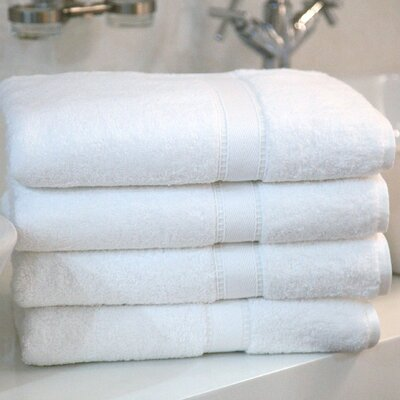 Linum Home Textiles Luxury Hotel & Spa 100% Turkish Cotton Bath Towel (Set of 4)