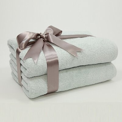 Linum Home Textiles Luxury Hotel & Spa Collection 100% Turkish Cotton Soft Twist Bath Towels (Set of 2)