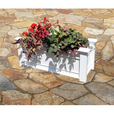 New England Arbors Square Windsor Box Planter