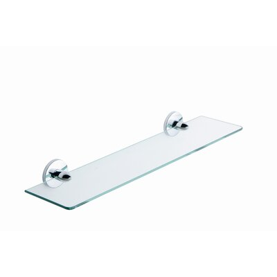"Moda Collection One 22"" x 0.5"" Bathroom Shelf"
