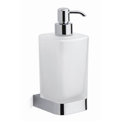 Moda Collection City Soap Dispenser in Chrome