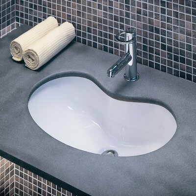 Moda Collection Silhouette Undermount Bathroom Sink