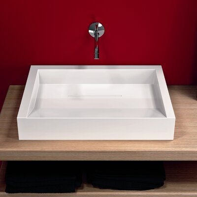 Groove Vessel Bathroom Sink - GR1278