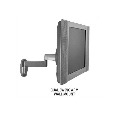 "Chief Manufacturing Small Flat Panel Swing Arm Wall Mount w/ 16"" Extension for 10"" - 32"" TVs"