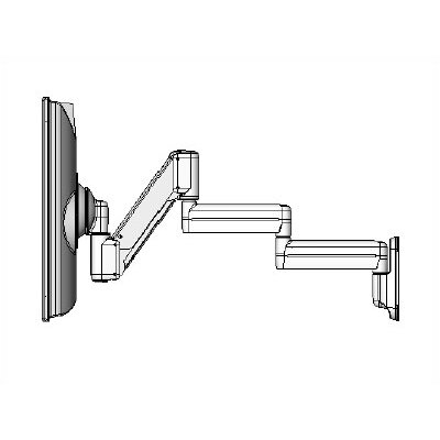 "Chief Manufacturing Height Adjustable Triple Arm Wall Monitor Mount for 10"" - 30"" Screens"