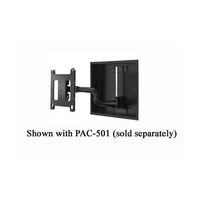 "Chief Manufacturing Universal PWRIW In-Wall Articulating Single Arm Plasma Mount (Up to 65"")"