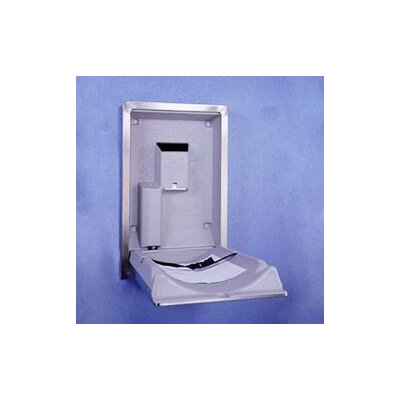 Koala Kare Products Vertical Stainless Steel Changing Station with Surface Mount