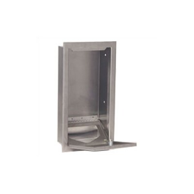 Koala Kare Products Stainless Steel Sanitary Liner Dispenser with Recess Mount