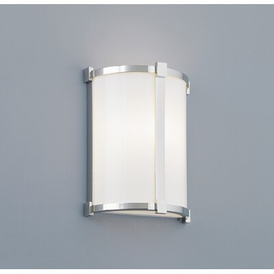 ILEX Lighting Hatbox ADA Round Wall Sconce