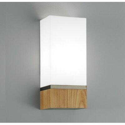 ILEX Lighting Cube 1 Light Wide Wall Sconce