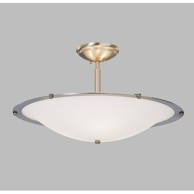 ILEX Lighting Diva Mezzo Pendant with Single Stem