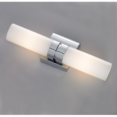 ILEX Wave 2 Light Double Wall Sconce