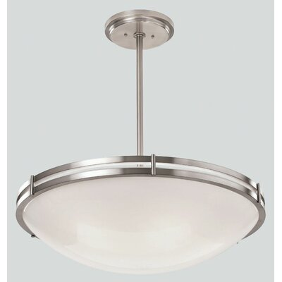 ILEX Lighting Hanover Bowl Pendant with Single Stem