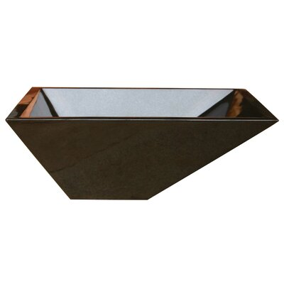 Irregular Rectangular Vessel Bathroom Sink - V-VGRTTP