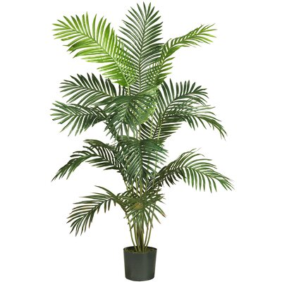 "Nearly Natural 72"" Paradise Palm Tree in Green"