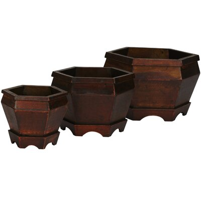 Hexagon Decorative Planters (Set of 3)