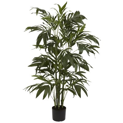 Nearly Natural 3' Bamboo Palm Silk Tree