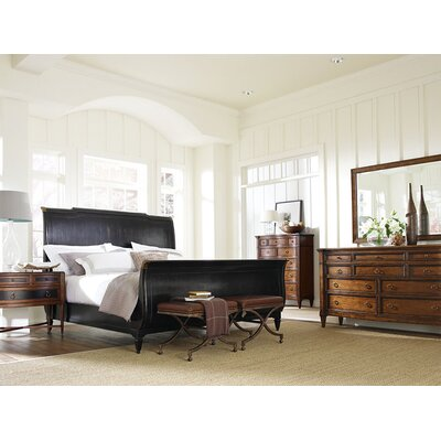Schnadig American Kaleidoscope Sleigh Bedroom Collection