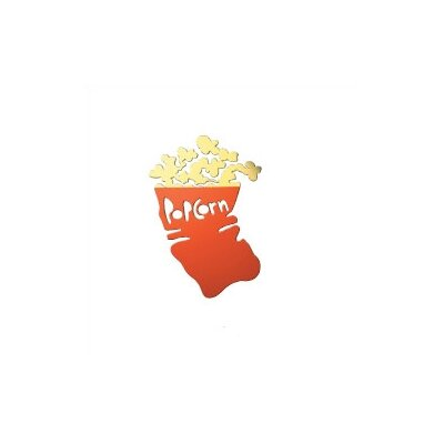 Popcorn Metal Wall Decor
