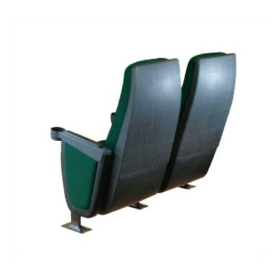 Bass Presidential Row of Four Movie Theater Chairs