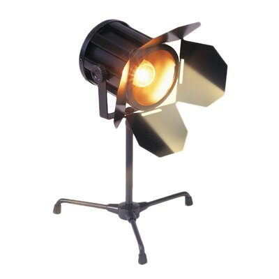 "Bass Spotlight 14"" H Table Lamp"