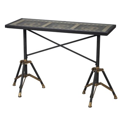 Sterling Industries Movie Reel Console Table