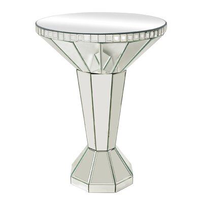 Sterling Industries Mirrored Side Table