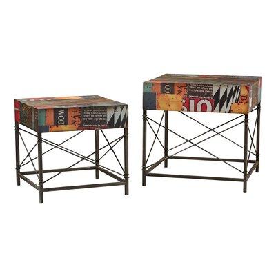 Sterling Industries 2 Piece Metal Table Set