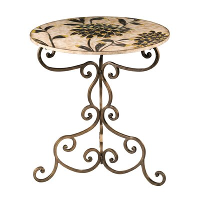 Sterling Industries Floral End Table