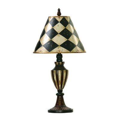 Sterling Industries Harlequin and Stripe Urn Table Lamp