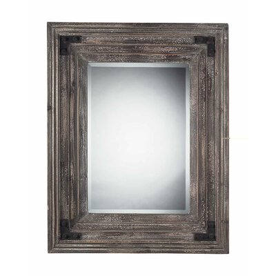 Sterling Industries Rectangle Mirror in Distressed Monterey Reclaimed Wood