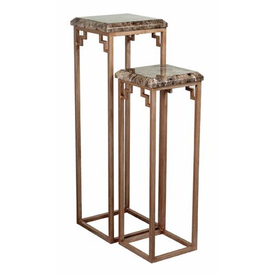 Sterling Industries Pedestal Plant Stand (Set of 2)