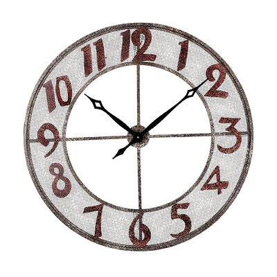 Sterling Industries Metal Outdoor Wall Clock