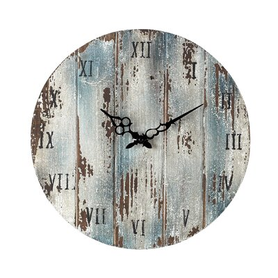 Sterling Industries Wooden Wall Clock