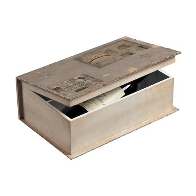 Sterling Industries Wine Holder Book Box
