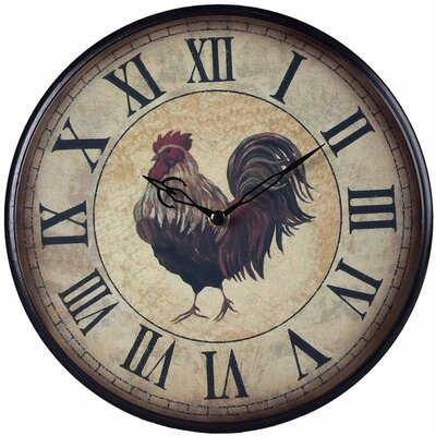 "<strong>Sterling Industries</strong> 9"" Rooster Clock"