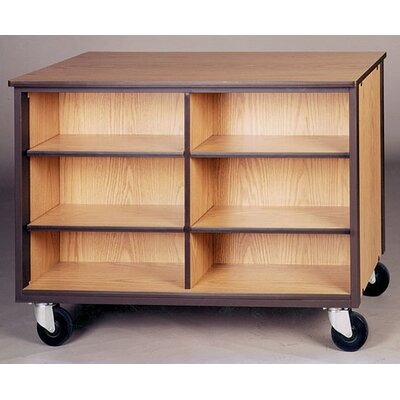 Ironwood 4000 Series Low Storage Shelves Mobile Cabinet
