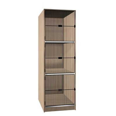 Ironwood Grill Door Music Storage: 3 Equal Compartments