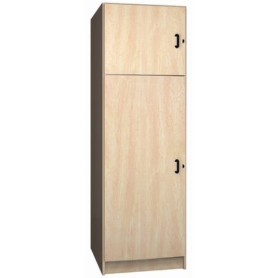 Ironwood Solid Melamine Door Music Storage: 2 Compartments