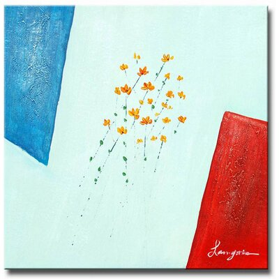 'Simply Summer' Contemporary Canvas Art