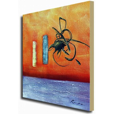 White Walls 'Writing On The Wall' Contemporary Canvas Art
