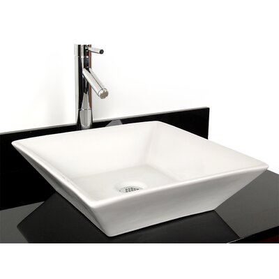 D'Vontz Barbados China Vessel Bathroom Sink