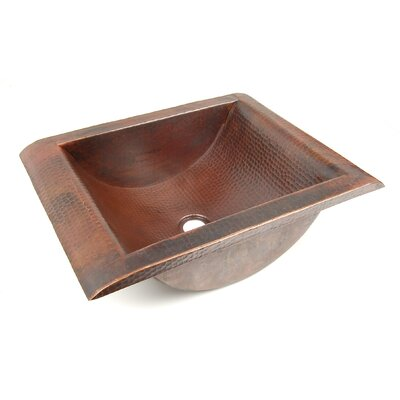 Vontz Copper Bathroom Sinks 21 X 16 Lucia Drop In Kitchen Sink